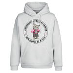 Knocking out Breast Cancer One Punch At A Time 2D Hoodie