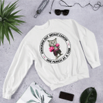 Knocking out Breast Cancer One Punch At A Time 2D Sweatshirt