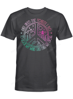 Hippie And Into The Forest 2 Shirts / Mugs / Totes / Hand Bags