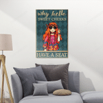 Hippie Chibi Posters Puzzles For Hippie Lovers