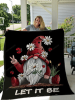 Gnome Hippie Blankets Quilts Bedding Set For Hippie Lovers