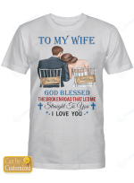 Personalized Shirts Hoodies Cups For Couples Husband Wife Wedding