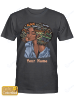 Personalized Name Inspiration Afro Girl Shirts / Mugs / Totes/ Hand Bags