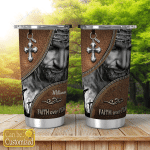 Personalized Tumblers Cups Faith Over Fear Jesus For God Lovers Christ Christian