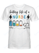 Battery Life Of A Nurse (MORE JOB TITLES ARE IN THE COLLECTION BELOW)