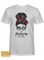 Personalized January Girl  Shirts Hoodies Cups Mugs Hand Bags Totes