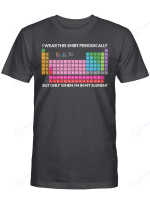 Chemistry Table Shirts Hoodies Cups Hand Bags Totes Science