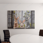 Rabbit Widow For Famers - Farming Canvas / Posters / Puzzles