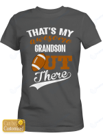 Personalized That's My Awesome Grandson Rugby Sport Shirts/ Mugs / Totes
