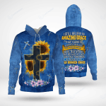 I Still Believe In Amazing Grace That There Is Power In The Blood New Multi Piece Hoodies Christ Christian
