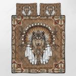 N.A Wolf Spirit Bedding Sets / Quilts / Blankets / Comforters / Canvases / Posters / Puzzles / Bedset