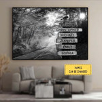 Family Canvases Posters Puzzles Shower Curtains
