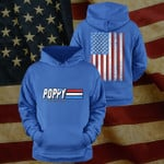 Poppy A Real American Hero Happy Father's Day Stickers Shirts Hoodies Cups Mugs Totes Handbags