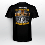 Stand With God Be Judged By The World 2 Jesus Christs Christians Shirts Hoodies Cups Mugs Totes Handbags