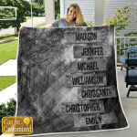 Personalized From 7 Names Family Members Canvases Pictures Puzzles Posters Quilts Blankets