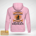 Personalized Grandma And Grandson A Special Bond Can't Be Broken (Vinyl Stickers, Shirts, Hoodies, Cups, Mugs, Totes, Handbags)