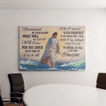 Jesus - I Can Only Imagine (Canvases, Pictures, Puzzles, Posters, Quilts, Blankets, Flags, Bath Mats) Christs Christians
