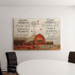Farm House Praise God Jesus (Canvases, Pictures, Puzzles, Posters, Quilts, Blankets, Flags) God Christs Christians