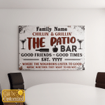 Personalized The Patio Family Gift (Canvases, Pictures, Puzzles, Posters, Quilts, Blankets, Door Mats)