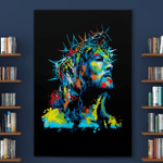 Crown Of Thorns Jesus (Jesus - Christs - Christians, Canvases, Posters, Pictures, Puzzles, Quilts, Blankets, Shower Curtains, Led Lamp, Stickers)