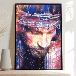 Jesus (Canvases, Posters, Pictures, Puzzles, Quilts, Blankets, Shower Curtains, Led Lamp, Stickers)