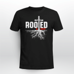 SPECIAL PRICE Rooted In Christ (Jesus - Christ - Christians Vinyl Stickers, Shirts, Hoodies, Cups, Mugs, Totes, Handbags)