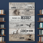Who Is Jesus (Canvases, Posters, Pictures, Puzzles, Quilts, Blankets, Shower Curtains, Flags, Bath Mats, Led Lamp, Stickers)