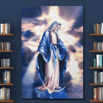 Virgin Mary Jesus (Christs - Christians, Canvases, Posters, Pictures, Puzzles, Quilts, Blankets, Led Lamp)