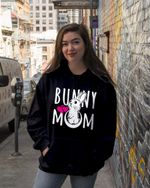 Bunny Mom Mothers's Day Gift Rabbit Hoodie
