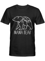 Mama Bear Camping Tshirt Mothers Day Shirts