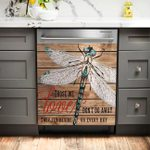 Those We Love Dont Go Away Dragonfly Decor Kitchen Dishwasher Cover