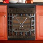 Hockey Decor Kitchen Dishwasher Cover
