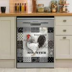 Rooster Decor Kitchen Dishwasher Cover