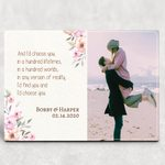 And I'd Choose You In A Hundred Lifetimes Valentine's Day Gift Photo Desktop Plaque