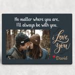 One Year Anniversary Photo Collage Valentine's Day Gift Desktop Plaque