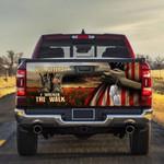 U.S. Veteran I Walked The Walk Truck Tailgate Wrap