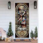 The Nativity Of Jesus Door Cover