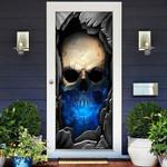 Skull Bones Of The Head Door Cover
