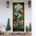 Dinosaur T-rex Door Cover