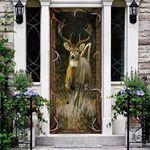 Deer Hunting Door Cover