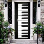 The Piano Keys Door Cover