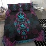 Cannabis Dreamcatcher Mandala Bedding Set