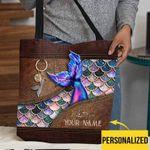 Personalized Mermaid Tote Bag