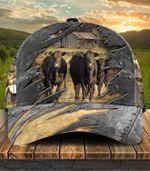 Black Angus Farm Cap