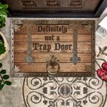Warrior Doormat Definitely Not A Trap Door