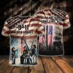 Memorial Gift 9.11 Firefighter 3D Tshirt Never Forget