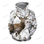Deer Hunting In The Snow 3D Hoodie