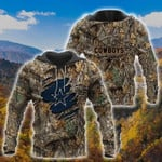 Cowboy In The Forest 3D Hoodie