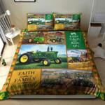 Tractor Farmer Bedding Set Keep Calm Ride On