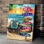 Jeep Beach Canvas Wall Art You Always Have The Choice